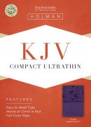 Kjv Compact Ultrathin Bible, Purpleleathertouch