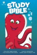 HCSB Study Bible For Kids, Octopus Leathertouch