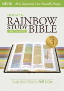 NIV Rainbow Study Bible Indexed Hardback