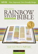 NIV Rainbow Study Bible, Saddle Brown Leathertouch Indexed