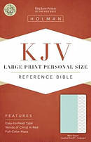 Large Print Personal Size Reference Bible - KJV