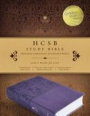 HCSB Study Bible, Purple Leathertouch