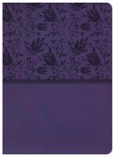 NKJV Holman Rainbow Study Bible Purple Leathertouch