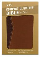 KJV Compact Ultrathin Bible for Teens, Walnut