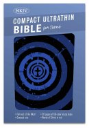 NKJV Compact Ultrathin Bible For Teens, Blue Vortex Leathert