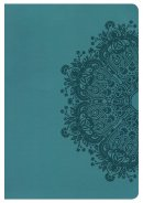 Nkjv Large Print Ultrathin Reference Bible, Teal Leathertouc