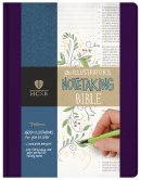 HCSB Illustrator's Notetaking Bible: Cloth Hardback, Purple