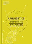 CSB Apologetics Study Bible For Students, Hardcover