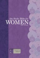 NKJV Study Bible For Women, Purple/Grey Linen L/l
