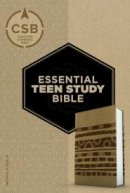 CSB Essential Teen Study Bible, Personal Size, Aztec Leather