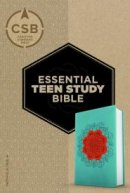 CSB Essential Teen Study Bible, Personal Size, Coral Flower
