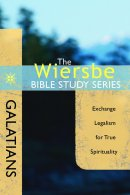 Wiersbe Bible Study Series The  Galatian