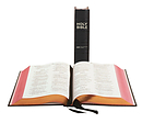 NIV Lectern Bible, Black, Persian Morocco Leather (British Text)