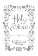 NIV Tiny White Christening Bible