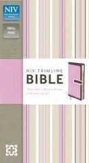 NIV Trimline Chocolate Pink Bible