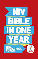 NIV Alpha Bible In One Year Paperback 10 copy pack