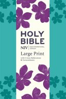NIV Large Print Single Column Deluxe Reference Bible
