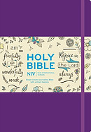 NIV Larger Print Purple Journalling Bible