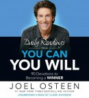 Audiobook-Audio CD-Daily Readings From You Can  You Will (Unabridged) (3 CD)