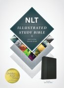 NLT Illustrated Study Bible: Black/Onyx, Imitation Leather