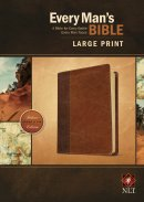 Every Man's Bible NLT, Large Print, TuTone