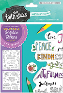 Galatians 5:22-23 Colorable Stickers