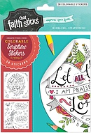 Psalm 103:2 Colourable Stickers