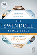 The Swindoll Study Bible NLT, Large Print