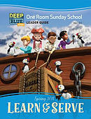 Deep Blue Kids Learn & Serve One Room Sunday School Extra Le