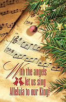 Our King Music Christmas Bulletin (Pkg of 50)