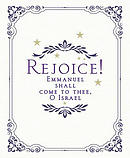 Rejoice! Advent Bulletin, Large (Pkg of 50)