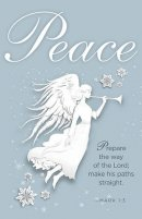 Peace Paper Art Advent Bulletin (Pkg of 50)