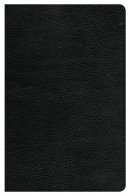 CSB Ultrathin Reference Bible, Black Genuine Leather, Indexe