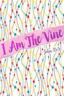 I Am the Vine: Bible Verse Quote Cover Composition Notebook Portable