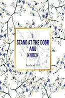 I Stand at the Door and Knock: Bible Verse Quote Cover Composition Notebook Portable