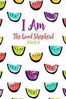 I Am the Good Shepherd: Bible Verse Quote Cover Composition Notebook Portable