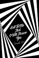 Call to Me, and I Will Answer You: Bible Verse Quote Cover Composition Notebook Portable