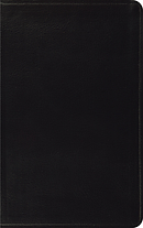 ESV Thinline Bible: Black, Bonded Leather