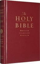 ESV Pew and Worship Bible: Dark Red, Hardback