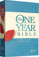 ESV The One Year Bible: Paperback