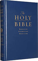 ESV Pew and Worship Bible: Large Print, Navy Blue