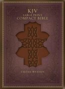 KJV Large Print Compact Bible: Brown Imitation Leather