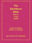 Interlinear Hebrew Greek English Bible: Larger Print, Vol. 1 of 4