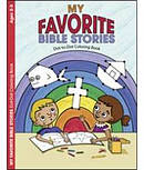 My Favorite Bible Stories Dot To Dot Coloring Book