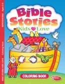 Bible Stories Kids Love Colouring Activity Book