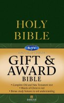 KJV Gift and Award Bible : Green