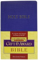 KJV Gift & Award Bible, Blue, Imitation Leather