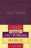 KJV  Gift & Award Bible: Royal Purple, Imitation Leather