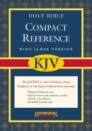KJV Compact Reference Bible: Black