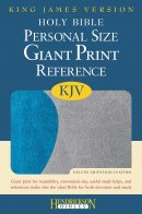 KJV Personal Size Giant Print Reference Bible Grey Imitation Leather